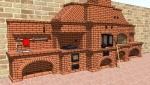 Проект Кухонного печного комплекса